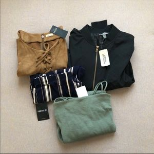 Bundle of 4 pieces of NWT clothing